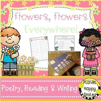 Spring Activities  ~ Flowers, Flowers, Everywhere: Poetry,