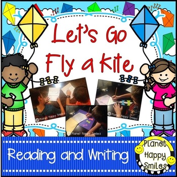 ‬ Spring Activities ~ Let's Go Fly a Kite!: Reading and Writing