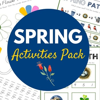 Spring Activities Pack