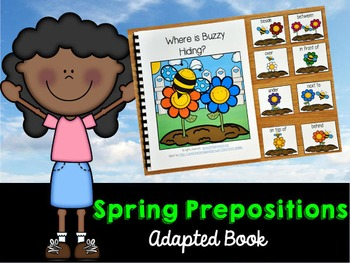 "Spring Adapted Book: ""Where Is Buzzy Hiding?"""