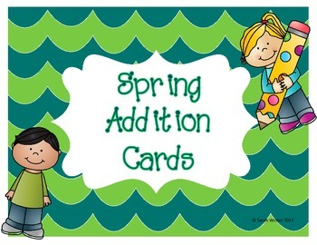 Spring Addition Cards
