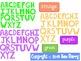 Spring Alphabet Clip Art Letter Bundle