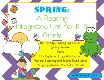 Spring BUNDLE: 90+ Pages Weather, Frogs, Butterflies & Mor