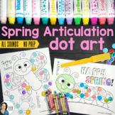 Spring Dot Art {No Prep!}