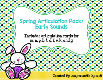 Spring Articulation Pack: Early Sounds