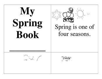 Spring Booklet