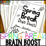 Spring Break Brain Boost for First Grade!