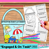 Spring Break: Writing: Bucket List Booklet