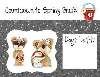 Spring Break Countdown