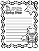 Spring Break / March Break Journal Poster Pages