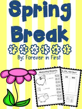 Spring Break Homework