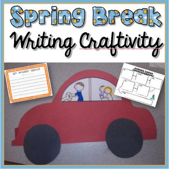 Spring Break Writing Craftivity