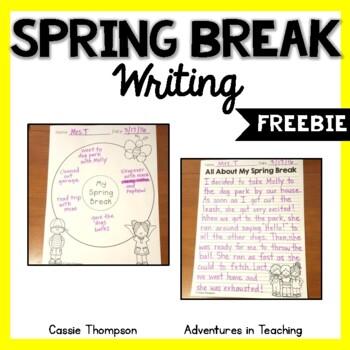 Spring Break Writing- FREEBIE