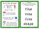 Spring CVCe Silent E Read and Keep Card Game