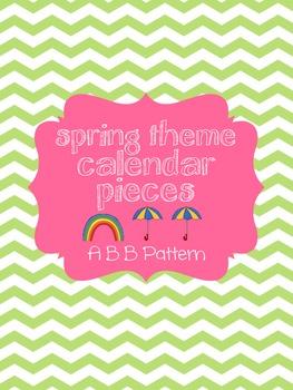Spring Calendar Pieces