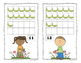 Spring Caterpillar and Butterfly 10 Frame Counting Mats Bu