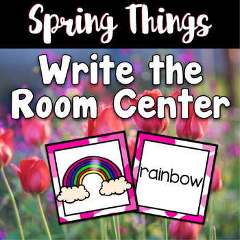 Spring Center ~ Write The Room