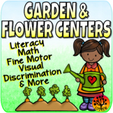 Flower Centers Spring Activities Garden Literacy Math Fine