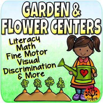 Flower Centers Math Literacy Fine Motor Preschool Kinderga