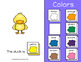 Spring Color Book (Adapted Book)