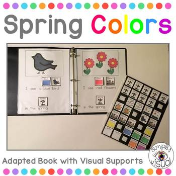 Spring Colors Adapted Book