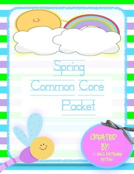 Spring Common Core Packet
