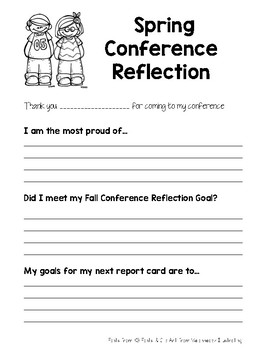 Spring Conference Reflection