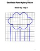 Spring Coordinate Plane Mystery Pictures