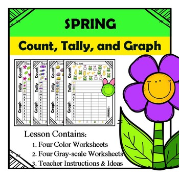 Spring - Count, Tally, & Graph