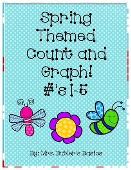 Spring Count and Graph - #s 1-5
