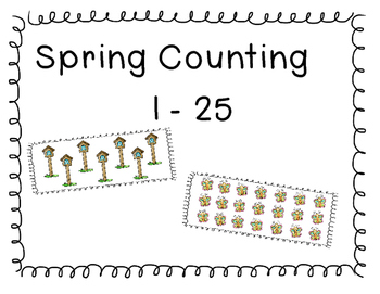 Spring Counting 1 - 25