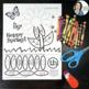 Spring Cut & Paste Articulation {No prep!}