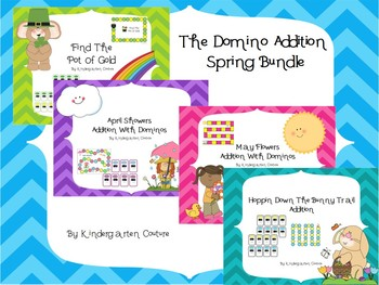 Spring Domino Addition Bundle
