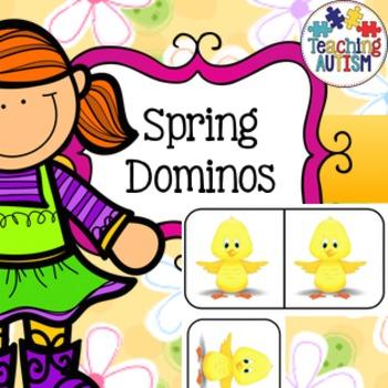 Spring Dominos Activity