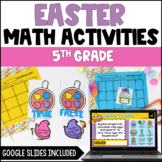 Spring Easter Math Centers with Bunnies and Eggs {Common C