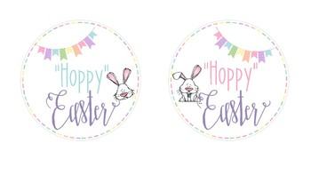 Easter and Spring Round Tags
