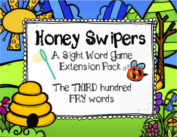 Spring FRY Sight Words Extension Pack (words 201-300)
