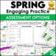 Spring Figurative Language Task Cards and Figurative or Li