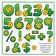 Spring Flower Alphabet Clip Art