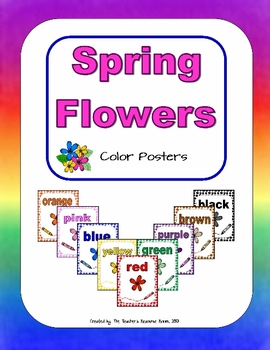Spring Flowers - Color Posters