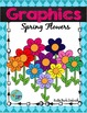 Spring Flowers Digital Clip Art