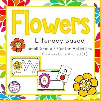 Spring Flowers Mega Literacy Pack ~ Letter Recognition, Be