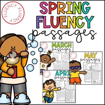 Spring Fluency Bundle (Differentiated)
