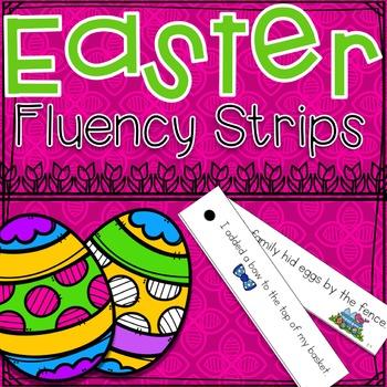 Easter Fluency Strips