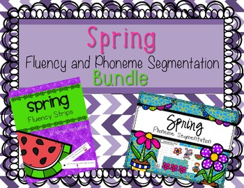 Spring Fluency and Phonemic Awareness Bundle