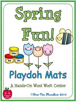 Spring Fun! Playdoh Activity Pack