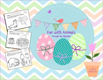 Spring Fun with Animals Through the Alphabet