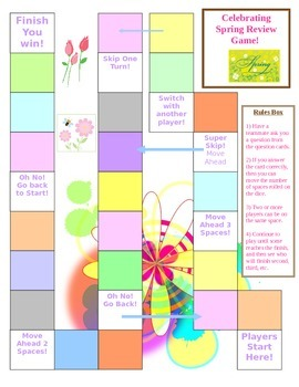 Spring Game Board