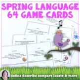 Talking About Spring Vocabulary in Speech Therapy