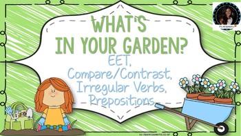 Spring Garden Language Pack: EET, Compare/Contrast, Prepos